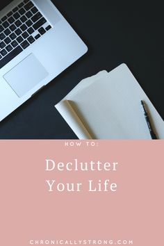 How To De-Clutter Your Life I am working on de-cluttering my life. Becoming the best version of myself: https://chronicallystrong.com/how-to-declutter-life-update/?utm_content=buffer003bd&utm_medium=social&utm_source=pinterest.com&utm_campaign=buffer