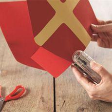 Sinterklaas knutseltip: de mijter van Sinterklaas | Mama en Zo