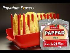 Papadum Express® - Grandma's Pappad. Microwave cook 10 papads in 45 seco...