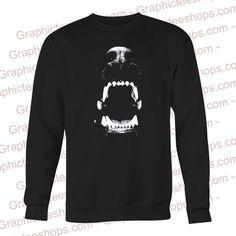 Angry Dog Teeth Sweatshirt