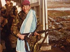 Pte Paul 'Beast' Fuller in Port Stanley, Falklands 1982. Pin by Paolo Marzioli