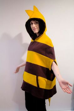 Undertale Monster Kid inspired cosplay poncho hoodie  I WANT THIS SO BADLY