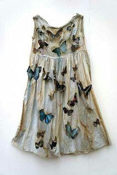 Butterfly fairy princess dress