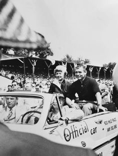 Clark Gable and Barbara Stanwyck