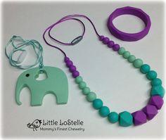 Nursing Teething Necklace Jewelry Bracelet & by LittleLoStelle