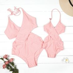 Mommy and Me Matching Outfits Twin Outfits, Baby Outfits Newborn, Kids Outfits, Mom Daughter Matching Outfits, Matching Family Outfits, Latest Fashion For Women, Womens Fashion, Swimsuits, Swimwear