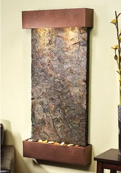 Copper Wall Fountain