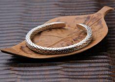 Thai Silver Hand Woven Cuff Bracelet $70