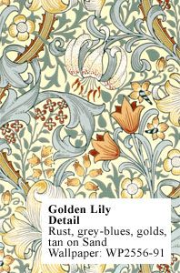 Historic Style - Golden Lily - Page 2, by J. H. Dearle