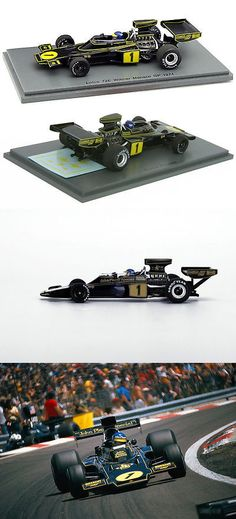 Formula 1 Cars 180270: S4835 Spark 1 43 : Lotus 72E #1 Winner Monaco Gp 1974 Ronnie Peterson Jps -> BUY IT NOW ONLY: $72 on eBay!