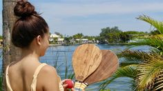 Vero Frescobol wood, fiberglass, carbon fiber beach paddleball and gear, fun beach game Fun Beach Games, Beach Fun, Carbon Fiber, Surfboard, Wood, Carbon Fiber Spoiler, Woodwind Instrument, Timber Wood, Trees