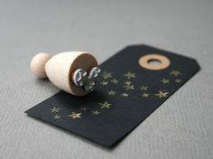 Sternenhimmel Sternenregen Stempel Mit Kleinen Sternen