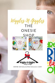 Check out awesome baby gifts made with onesies! Cute Baby Onesies, Cute Baby Clothes, Best Baby Gifts, Baby Boutique, Business For Kids, Childhood Education, Child Development, Early Childhood, Baby Shower Gifts