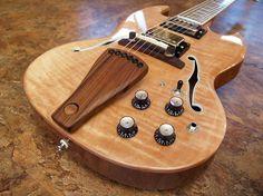 Highline Guitars custom archtop hollowbody SG