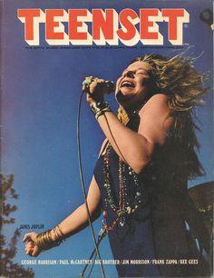 Teen Set, September 1968.   On the cover: Janis Joplin