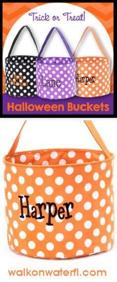 #HalloweenBuckets at #WalkOnWater in #LakeMary #Florida.  #trickortreat #halloween #kidsbags