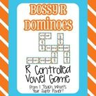 Have fun practicing with Bossy R.  This dominoes game offers your students a chance to review r controlled vowel sounds.  Recording sheet included....