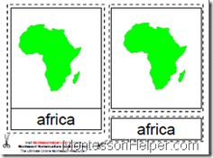 The Montessori Materials are used for teaching Geography.  You can download them FREE at MontessoriHelper. Includes Step-by-Step instructions and Video Example.