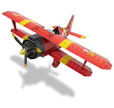 Paper Model - Tornado Airplane