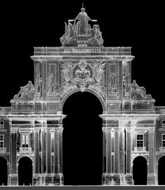 The 3D laser scanning survey of the Arco of Rua Augusta (ArcHC_3D)  http://archc3d.fa.utl.pt/public_html/