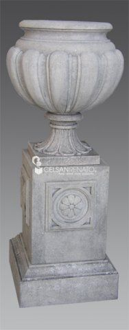 #Classic or #modern #stone vase.