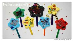 Learning and Exploring Through Play: Toddler Wand Craft