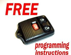 1998 1999 2000 2001 2002 Lincoln Navigator Remote Keyless Entry Key Fob with Simple Self Programming Instructions by Unknown. $8.47. This remote has 3 buttons with lock, unlock and panic. The outer casing is black and the buttons are soft. This remote is built for years of use. Winksllc will provide easy to complete, do-it-yourself programming instructions. Programming your vehicle to recognize the remote takes only a few moments. Vehicles must be equipped with f...