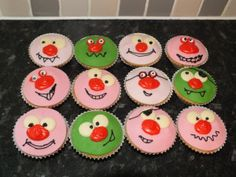 Red nose day mini cakes!