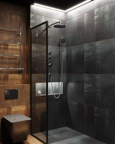 175 bathroom shower modern ideas interior - page 24 > Homemytri. Bathroom Design Luxury, Bathroom Layout, Modern Bathroom Design, Home Interior Design, Interior Plants, Home Design, Interior Ideas, Bathroom Design Inspiration, Bathroom Styling