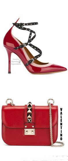 Valentino Garavani 'love Latch' Pumps & Valentino Garavani 'glam Lock'…
