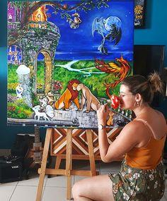Acrylique/peinture/Disney/Pokémon/Olaf/Goupix/Mushu/Phoenix/Roilion/Mulan/Reinedesneiges/WaltDisney/Lagedeglace/Scrat/contemporain/peinture/réalisme/tableau/acrylique/illustration/graphisme/paint/poppix' 100x100cm Aquarium, Disney, Illustration, Olaf, Painting, Acrylic Board, Black N White, Graphic Design, Contemporary
