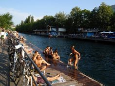 During the short Swiss summer, Zürich residents swap suits for swimming costumes and plunge into the cooling waters of Lake Zürich and the River Limmat. More than 25 badis (public swimming baths) line the lakeshore and riverbanks, from streetwise hangouts like Flussbad Oberer Letten, where the hot, young and hip come to cool down, to the elegant Frauenbadi, a graceful women-only bathing pool founded in 1888.
