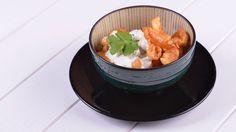 Receta paso a paso de Garbanzos thai con gambas de Los 22 minutos de Julius, un plato de cuchara con toque exótico de curry y leche de coco.