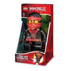 This LEGO Ninjago Kai Torch features poseable arms and light angling legs with two bright beams of light. This light includes a 30 minute auto-off feature and the required AAA batteries. 30 minute aut