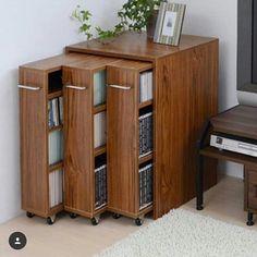Çok kitapları nız varsa harika  bir Pinfikir Bookshelves, Bookcase, Pumps, Future House, Architecture, Wood, Furniture, Design, Home Decor