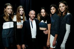 BACKSTAGE AT ALEX PERRY MBFWA 2014 'VARSITY' COLLECTION