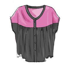 M6605  A billion styles of tunic top