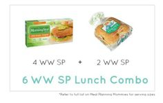 Weight Watcher Lunch Combo 19 - Meal Planning Mommies