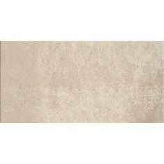 Cityside Beige Glazed Porcelain Indoor/Outdoor Floor Tile (Common: 12-in x 24-in; Actual: 23.62-in x 11.81-in)
