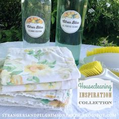 Strangers & Pilgrims on Earth: {DIY} Housecleaning ~ Spring Collection of Inspiration Room Deodorizer, Depression Era Recipes, Fall Cleaning, Strawberry Patch, Home Management Binder, Homekeeping, Spring Collection, Homemaking, Clean House