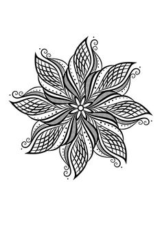Fleur mandala