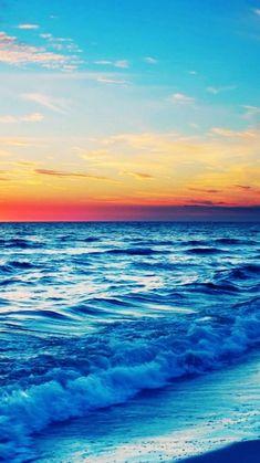 Stunning Ocean Sunset iPhone 6 Wallpaper 35977 - Beach iPhone 6 Wallpapers - Show your iphone 6 wallpaper ! by arrica
