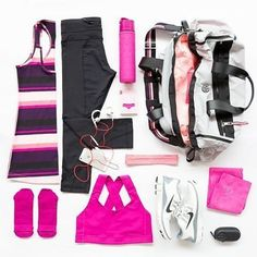 Reposting @allabouteve_in: Gym bag essentials for the perfect workout.  #workoutwednesday