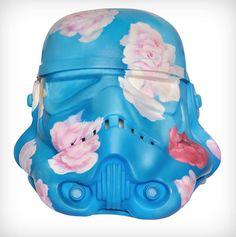 Art Wars: Famous Artists Remix the Famous Star Wars Storm Trooper Helmet. See them all!