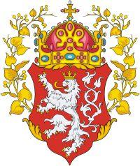 Bohemia, historical coat of arms of kingdom