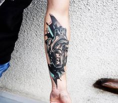 Heart with Keyhole tattoo by Dynoz Art Attack
