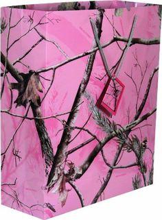 River's Edge Pink Fall Transitions Camo Design Gift Bag, X-Large/16x19x6-Inch by River's Edge, http://www.amazon.com/dp/B003DQTHXE/ref=cm_sw_r_pi_dp_X3iZrb03CGJFR