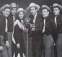 Hank Williams, Audrey Sheppard Williams and the Drifting Cowboys band
