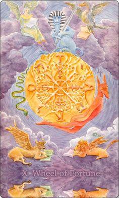 Aquatic Tarot Wheel of Fortune