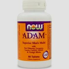 Get Better Quality & Save More! 60-120 tabs & 90 v-caps Now Adam Men's Multivitamin in (pack of 60-90-120) Save #NOW